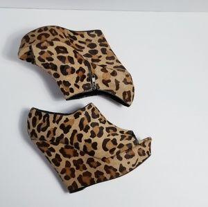 Steve Madden leopard Wedges wicked